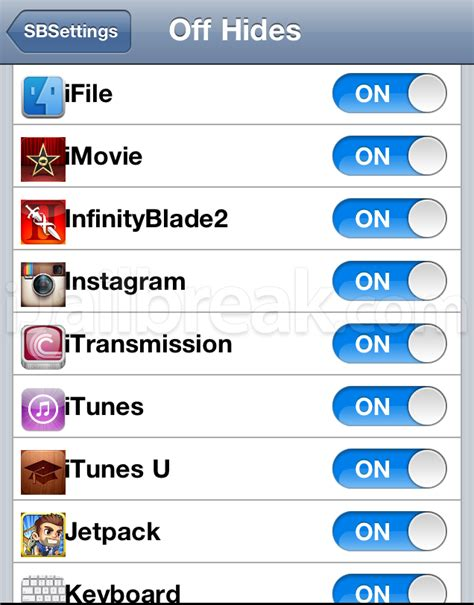 how to uninstall sbsettings ipod touch sbsettings user guide how to install use and theme it