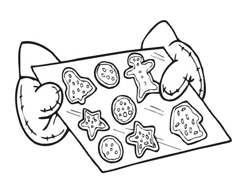 Christmas Cookies Coloring Pages Cookies Coloring Pages