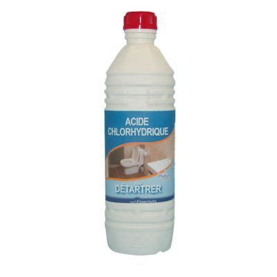 Acide Chlorhydrique Deboucher Evier by Acide Chlorhydrique Phebus 1l Castorama