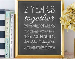 2 year anniversary ideas for him 2 year anniversary gifts for boyfriend etsy