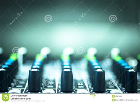 ibiza house music dj console mixing desk ibiza house music party nightclub stock photo image 60813082