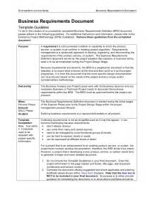 Business Requirements Document Template Business Requirements Document Template Free Business