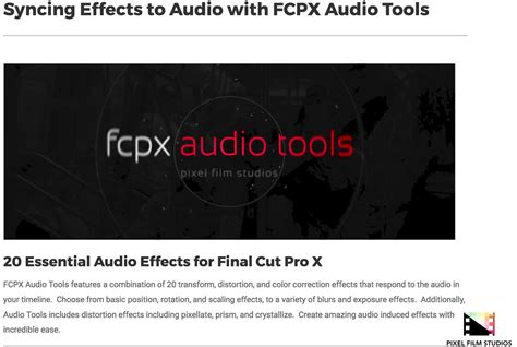 Fcpx Effect