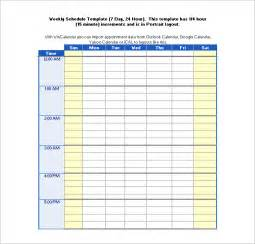 24 Hour Work Schedule Template Excel 24 hour daily schedule template printable calendar