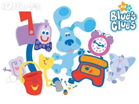 5 little clues 1 word 1 4 jpg blue s clues season 1 6 complete 4 movies kids 19 dvd