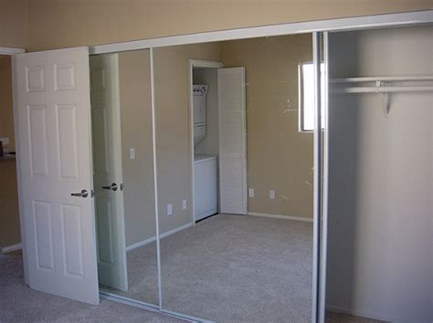 mirror sliding closet door sliding mirror closet doors install