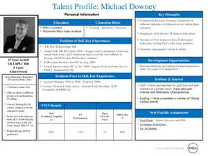 michael downey talent profile