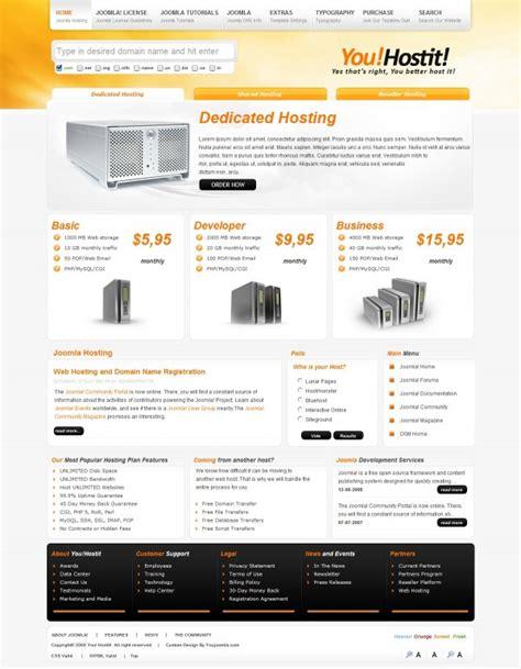 media template hosting youhostit joomla hosting enterprise