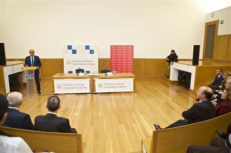 banco santander en alicante banco santander refuerza su compromiso con la universidad