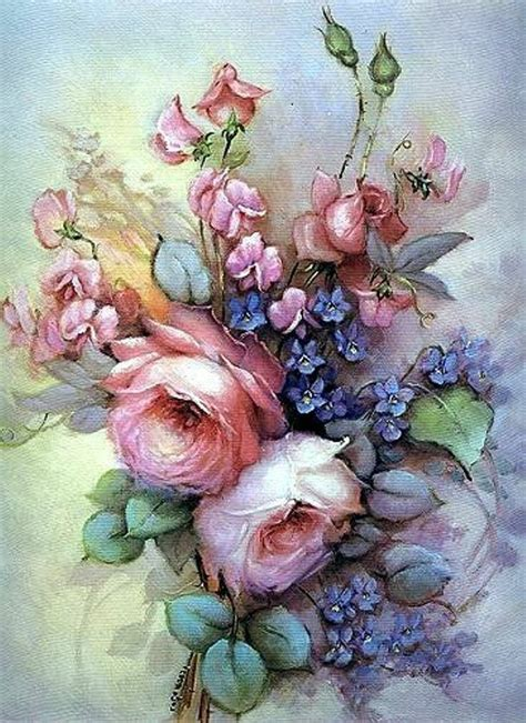 pretty painted floors with flower designs 385 best images about paintings of flowers on pinterest