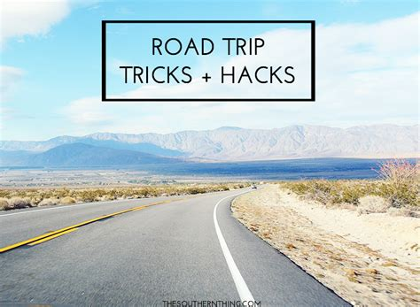 moving across country alone road trip tricks and hacks the southern thing