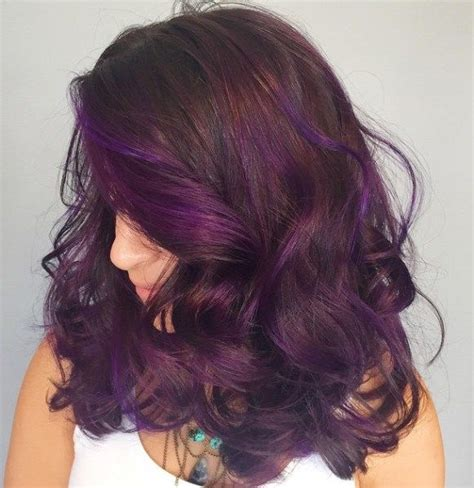 purple brown hair color 40 hair color ideas that are perfectly on point purple