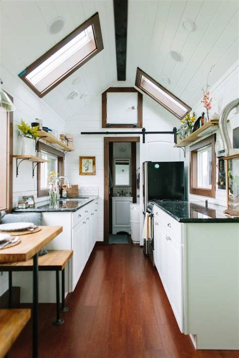 tiny homes interior luxurious small smart homes by tiny heirloom treehugger