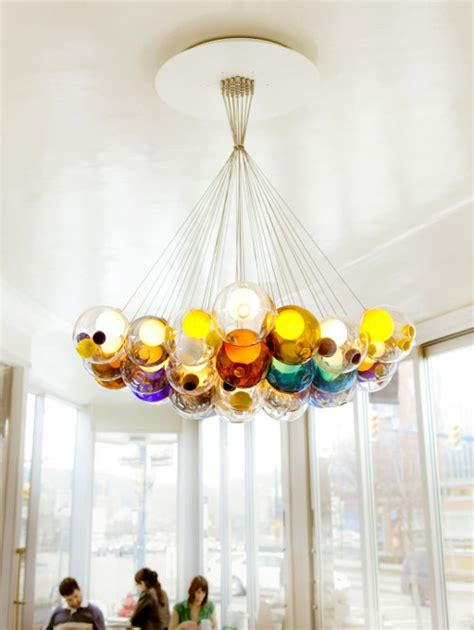 Design Leuchten Led by Glass Chandeliers Wonderfully Magical Lighting By Bocci