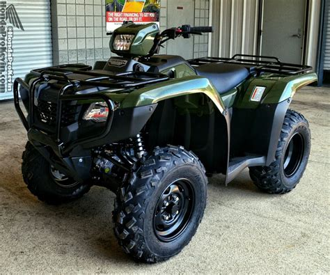 Honda Foreman Accessories by 2016 Honda Rancher 420 Atv Model Lineup Review