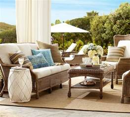Pottery Barn Furniture saybrook outdoor furniture collection