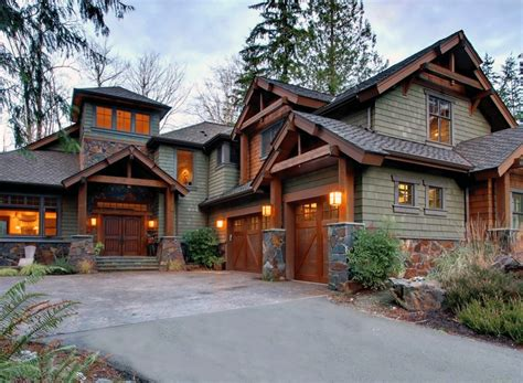 craftsman home designs architectural designs
