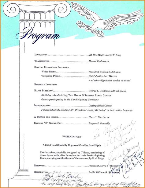 Resume Format Samples Download by 5 Birthday Party Program Sample Legal Resumed