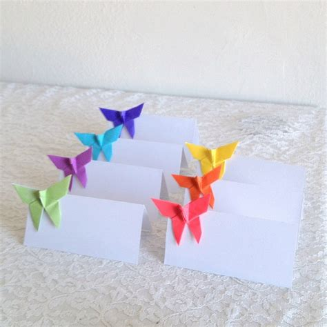 Origami Place Cards - 171 best images about segnaposti on table