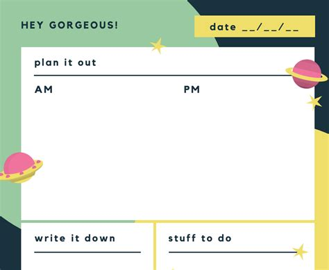 planner maker free online daily planner maker design a custom daily