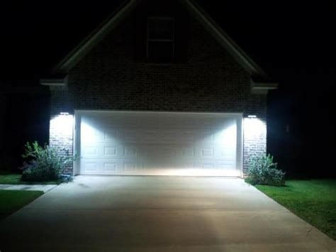 outside security lighting for homes best 25 outdoor garage lights ideas on