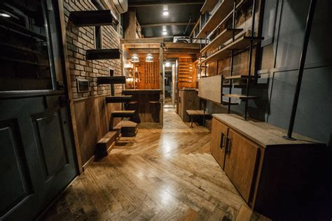 Beautiful Interiors Of Homes The Rook Wind River Tiny Homes