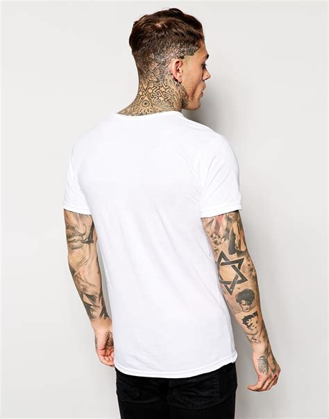 Miky Blouse lyst eleven x is a joke mickey t shirt in white for