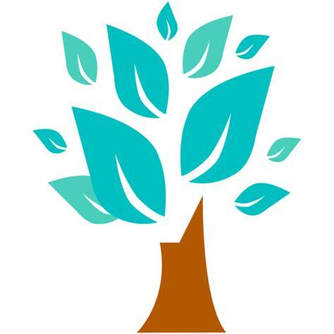 tree symbol tree icon flat jewels iconset pixelkit