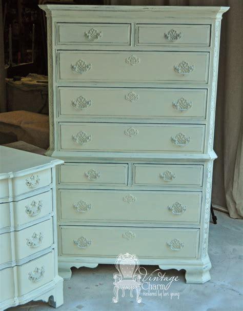 la craie vanille dresser redo vintage charm restored