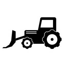 bulldozer silhouette bulldozer free illustration material clip
