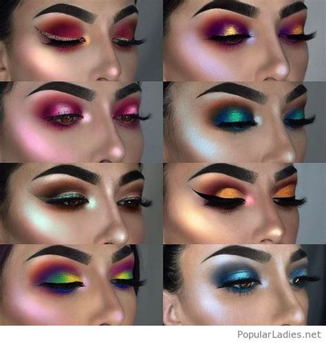 glam makeup styles