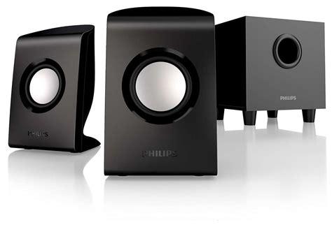 Speaker Komputer Philips multimedia speakers 2 1 spa1330 37 philips