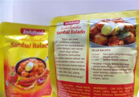 Sambal Balado Indofood coba dan review indofood sambal rumahan sambal balado