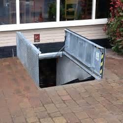 exterior basement access doors