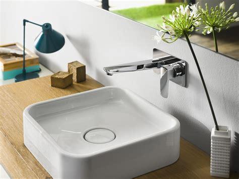 rubinetti nobile acquaviva miscelatore per lavabo a muro by carlo nobili