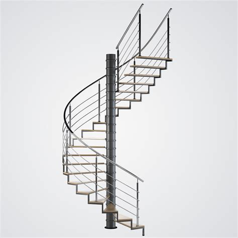 section 10b 3d model spiral stair