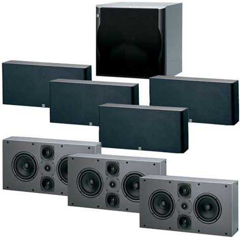 jamo d 6pex 7 1 home theater speaker system 95216 b h photo