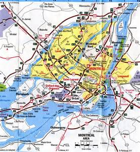 montreal on a map of canada montreal map