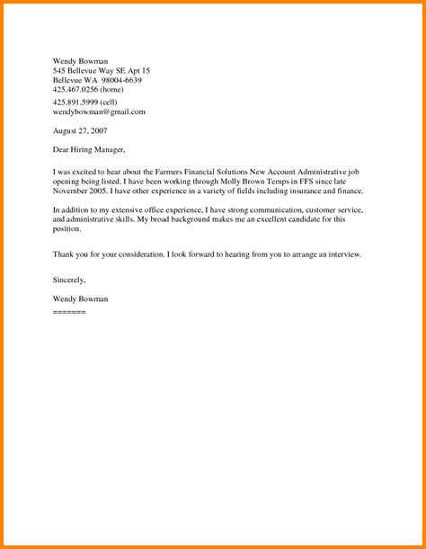 general cover letter for resume sle resume general cover letter resume ixiplay free