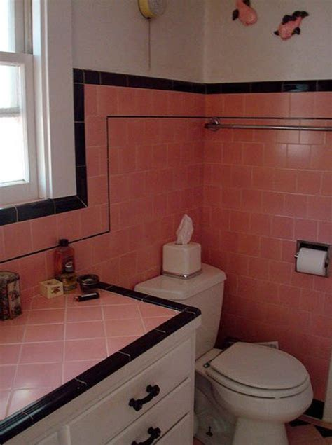 Black And Pink Bathroom Ideas 33 Pink And Black Bathroom Tile Ideas And Pictures