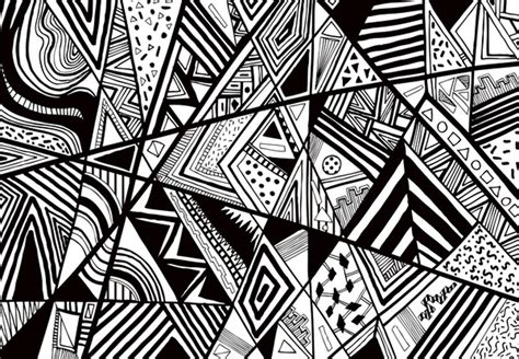 image visual pattern wednesday inspirations black and white vasares visual