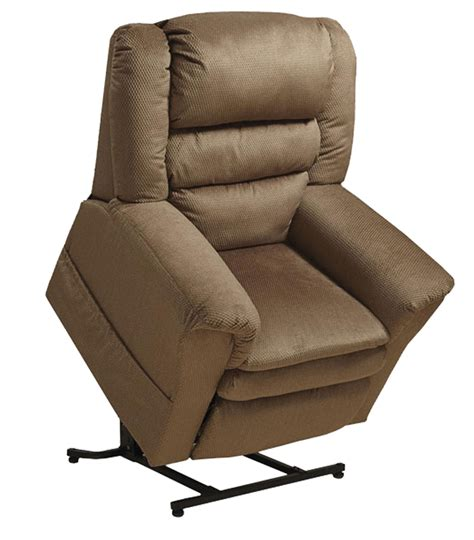 lift up recliner preston mocha power lift recliner from catnapper