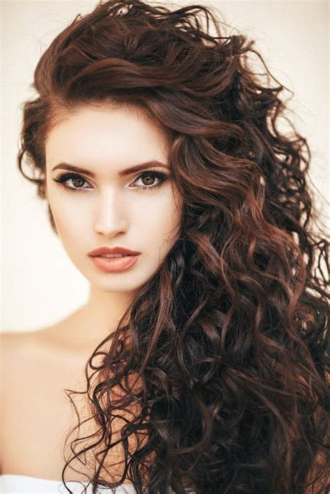 hairstyles for long voluminous hair curly hairstyles for long hair 19 kinds of curls to consider