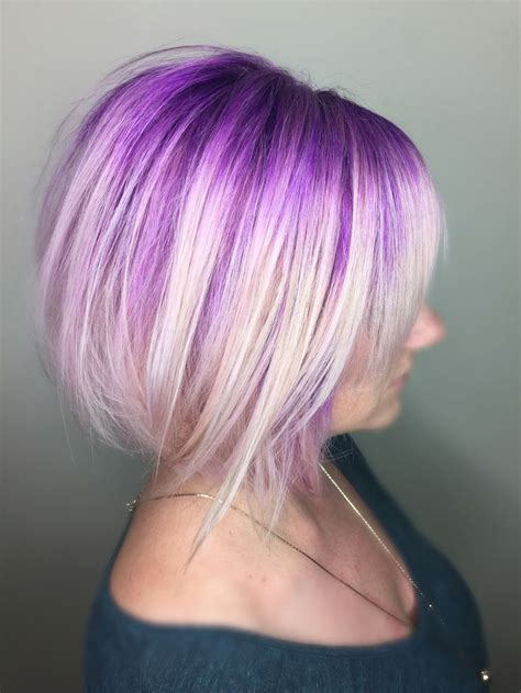 Purple Hairstyles by 25 Best Ideas About Purple Bob On Pastel
