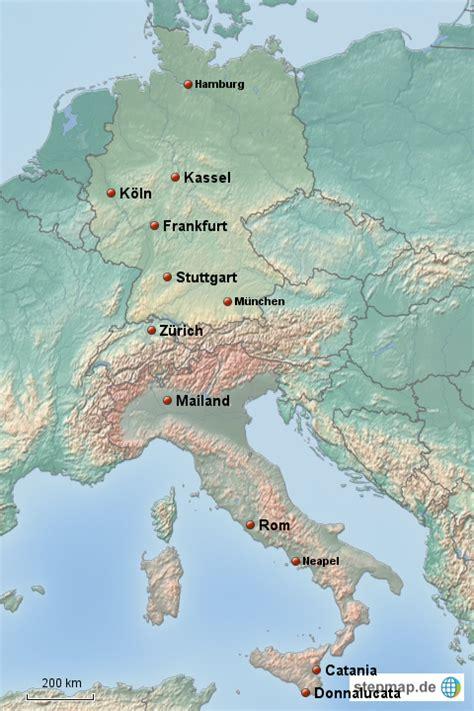 karte deutschland italien deutschland italien hei ber landkarte f 252 r deutschland