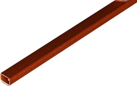 canaline passacavi a pavimento canalina adesiva 15x10 mm lunghezza 2 m colore ciliegio