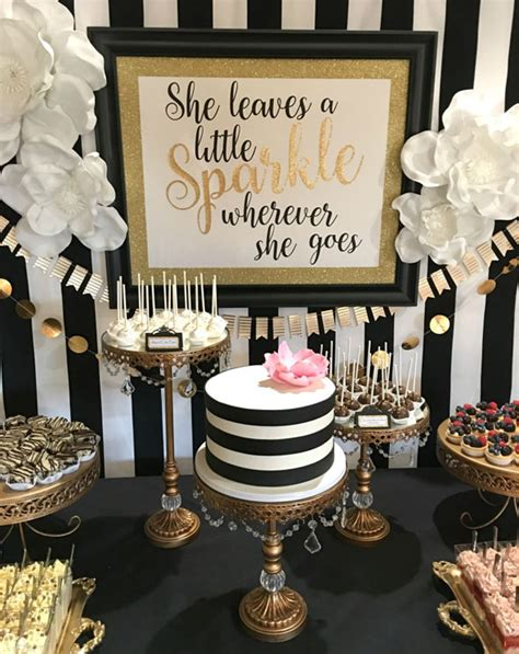 homemade themes by james kate spade birthday celebration