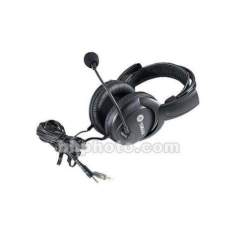 Headset Yamaha yamaha cm500 headset with boom microphone cm500 b h photo