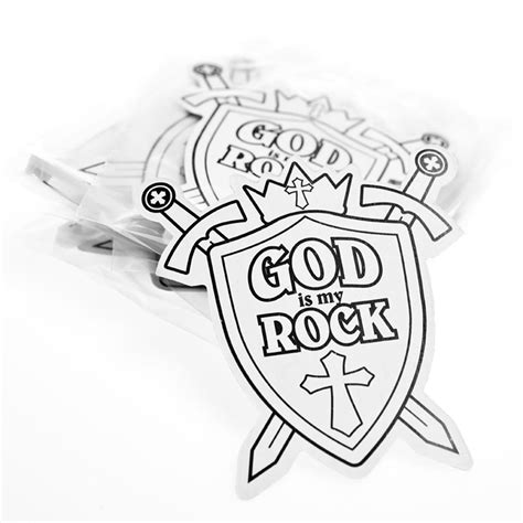 God Is My Rock Coloring Page your color az colorare