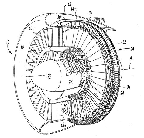 blade section patent us20090148287 fan blade with integral diffuser
